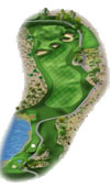 TPC The Canyons Las Vegas Golf Course Hole 10