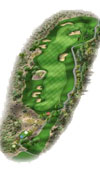 TPC The Canyons Las Vegas Golf Course Hole 6