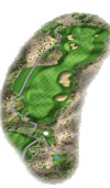 TPC The Canyons Las Vegas Golf Course Hole 8