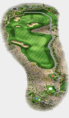TPC The Canyons Las Vegas Golf Course Hole 9